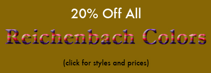20% Off Select Reichenbach Colors